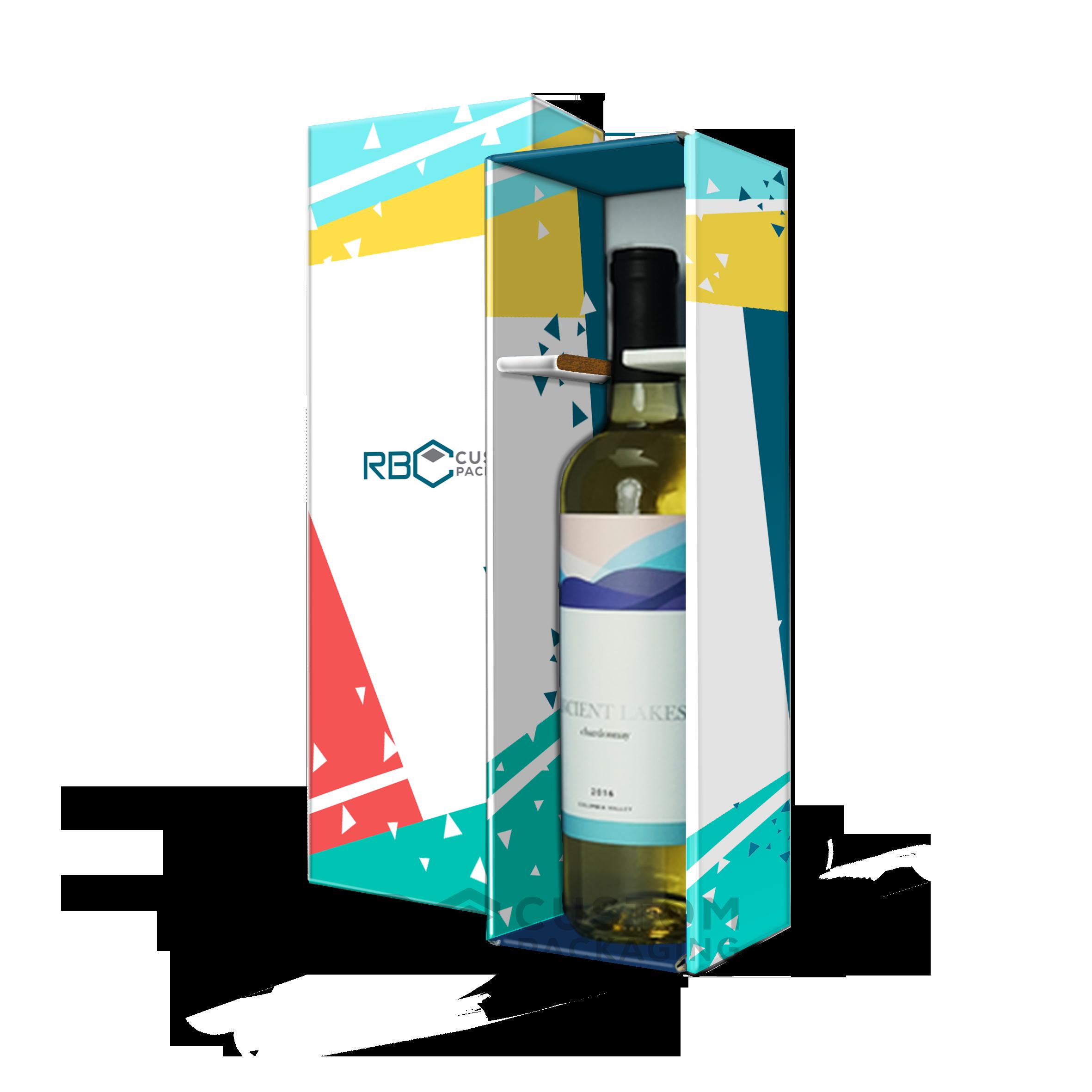 Custom Wine Bottle Display Gift Box